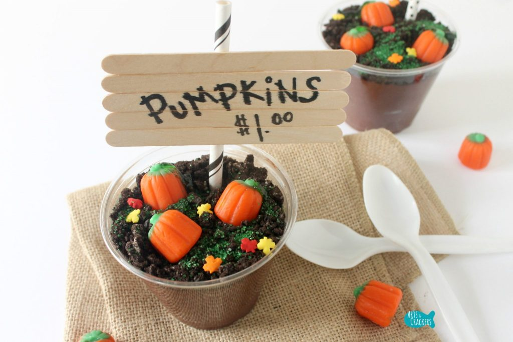 Pumpkin Patch Pudding Cups Dessert