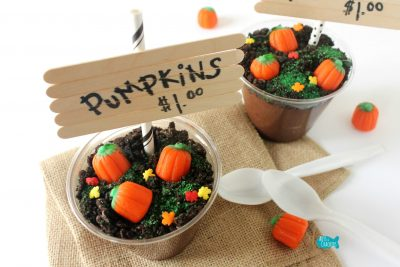 Pumpkin Patch Pudding Cups Fall