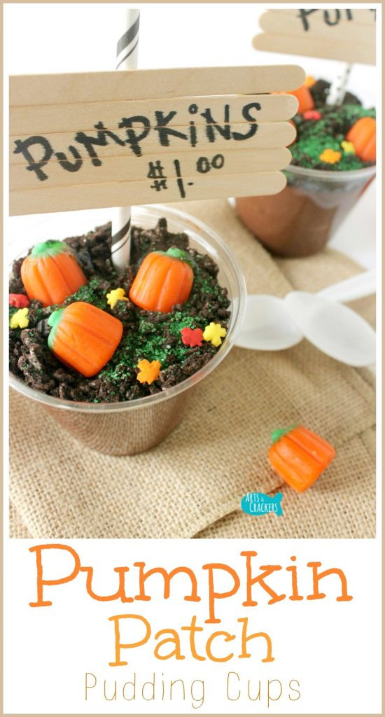 These Pumpkin Patch Pudding Cups are such a fun and easy fall treat for Halloween and autumn celebrations. Tutorial when you click the picture | Pumpkin Patch Pudding Cups | Fall | Autumn | Harvest | Halloween | Pumpkin Patch | October | November | September | Fall Treat | Classroom Snack | Snack Ideas | Dessert | Fall Dessert | Pudding | Pudding Cup | Dirt Cup | Recipe | Pumpkin | Mallowcreme | Kids | Pumpkin Activity | Pumpkin Patch Activity | Fall Treats for Kids | Fall Activity | Fall Snacks for Kids | Kid Made Food | Crafts for Fall
