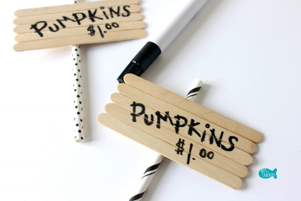 Pumpkin Patch Pudding Cups Sign 2