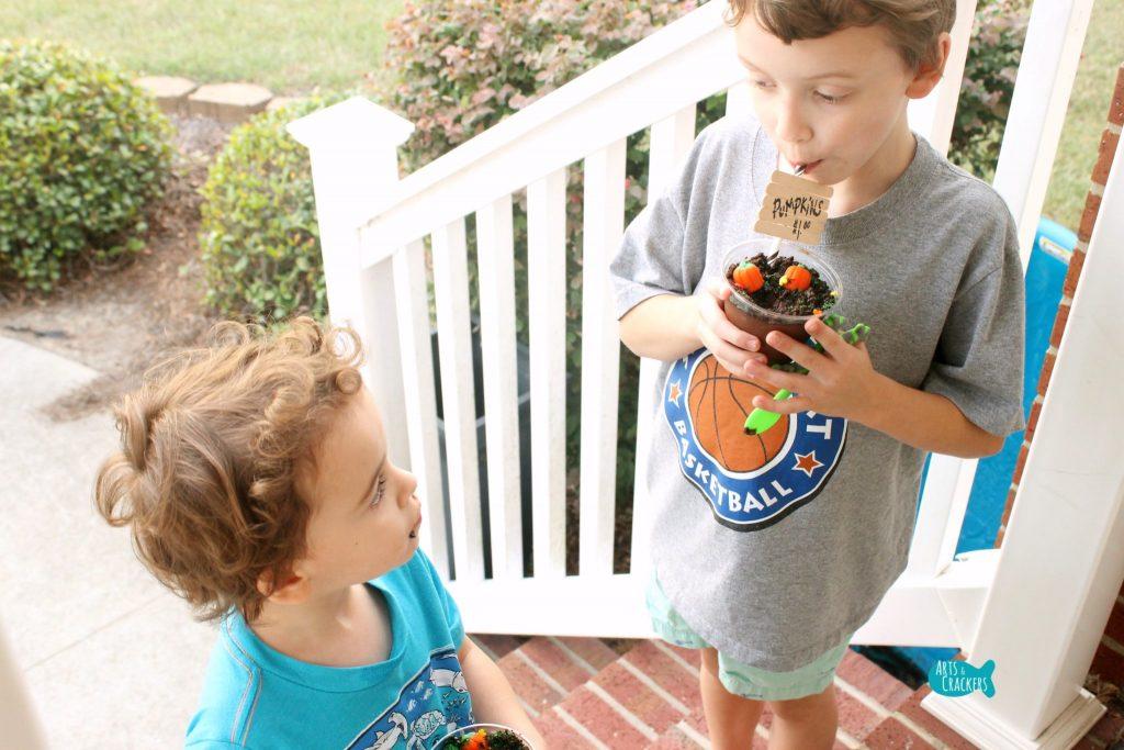 Pumpkin Patch Pudding Cups Yum 1