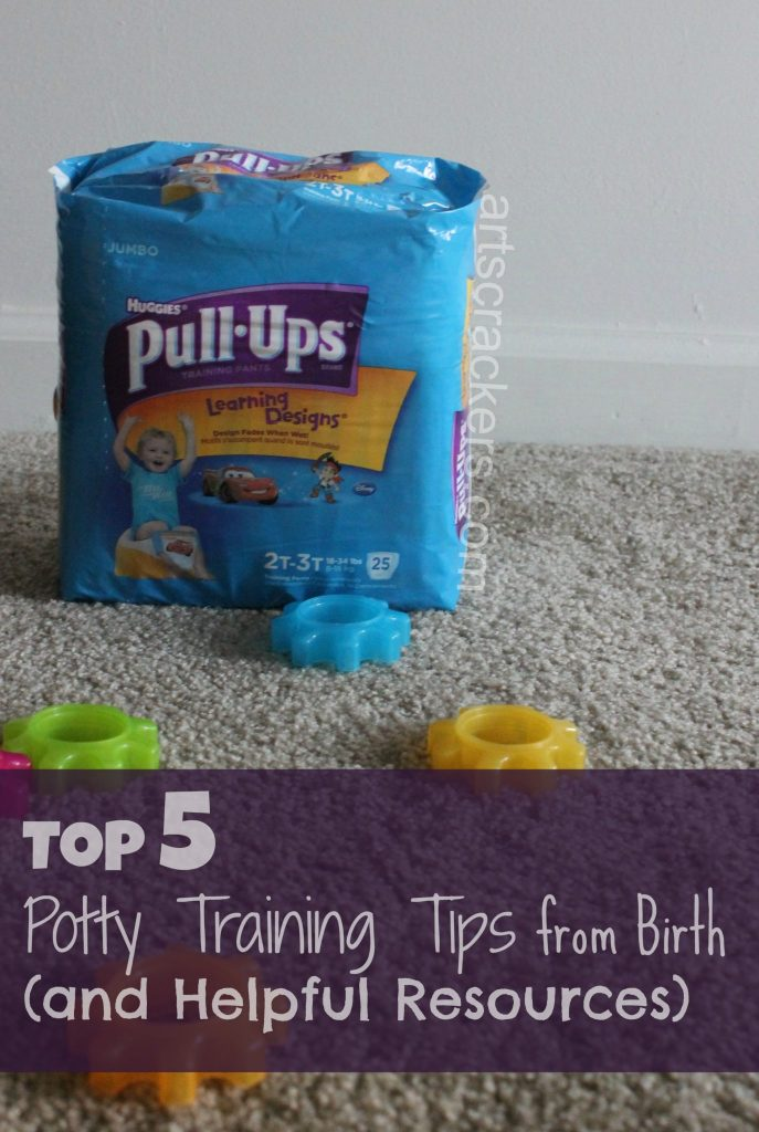Top 5 Potty Training Tips from Birth and Resources