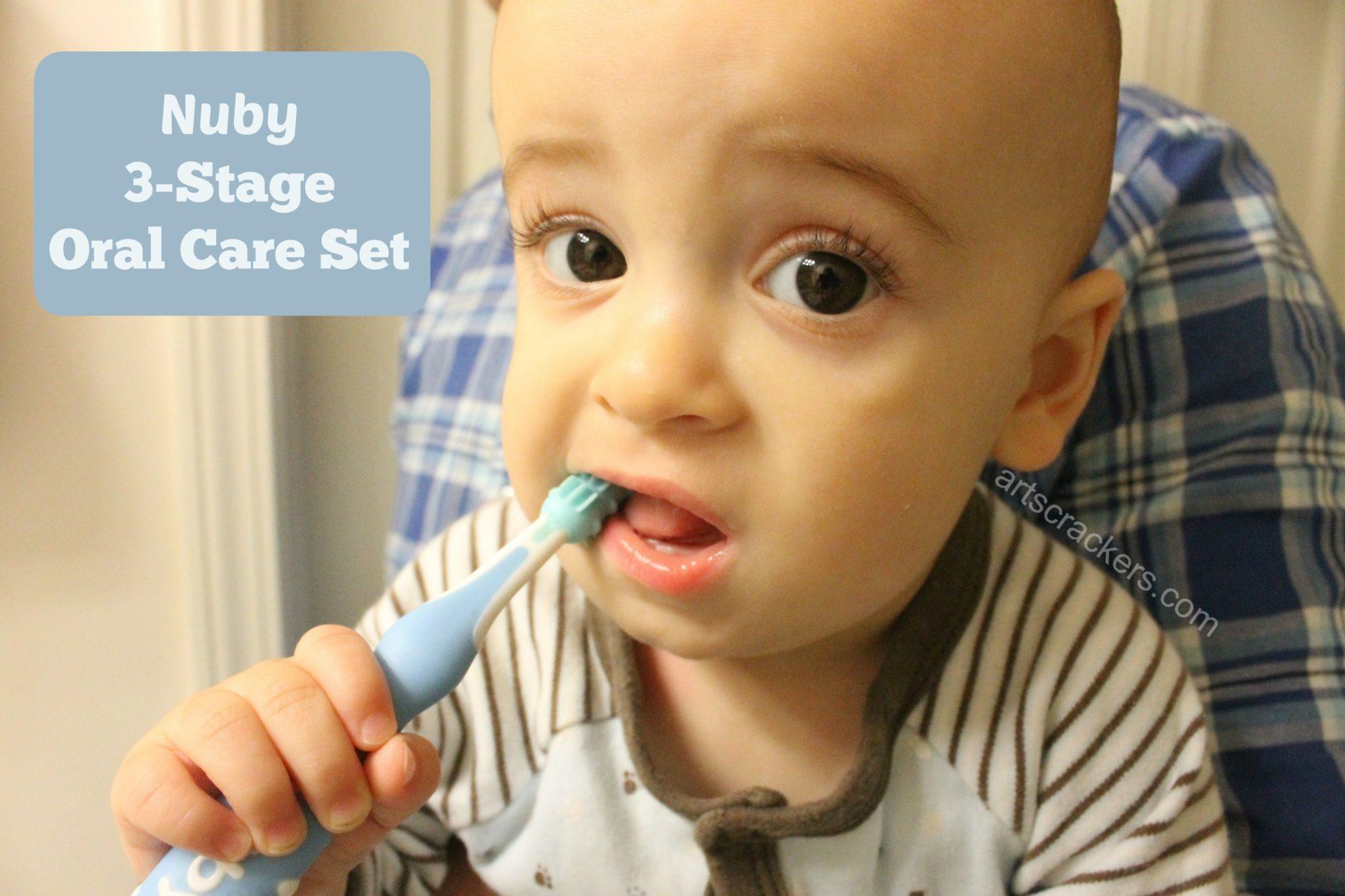Nuby 3 Stage Oral Care Set