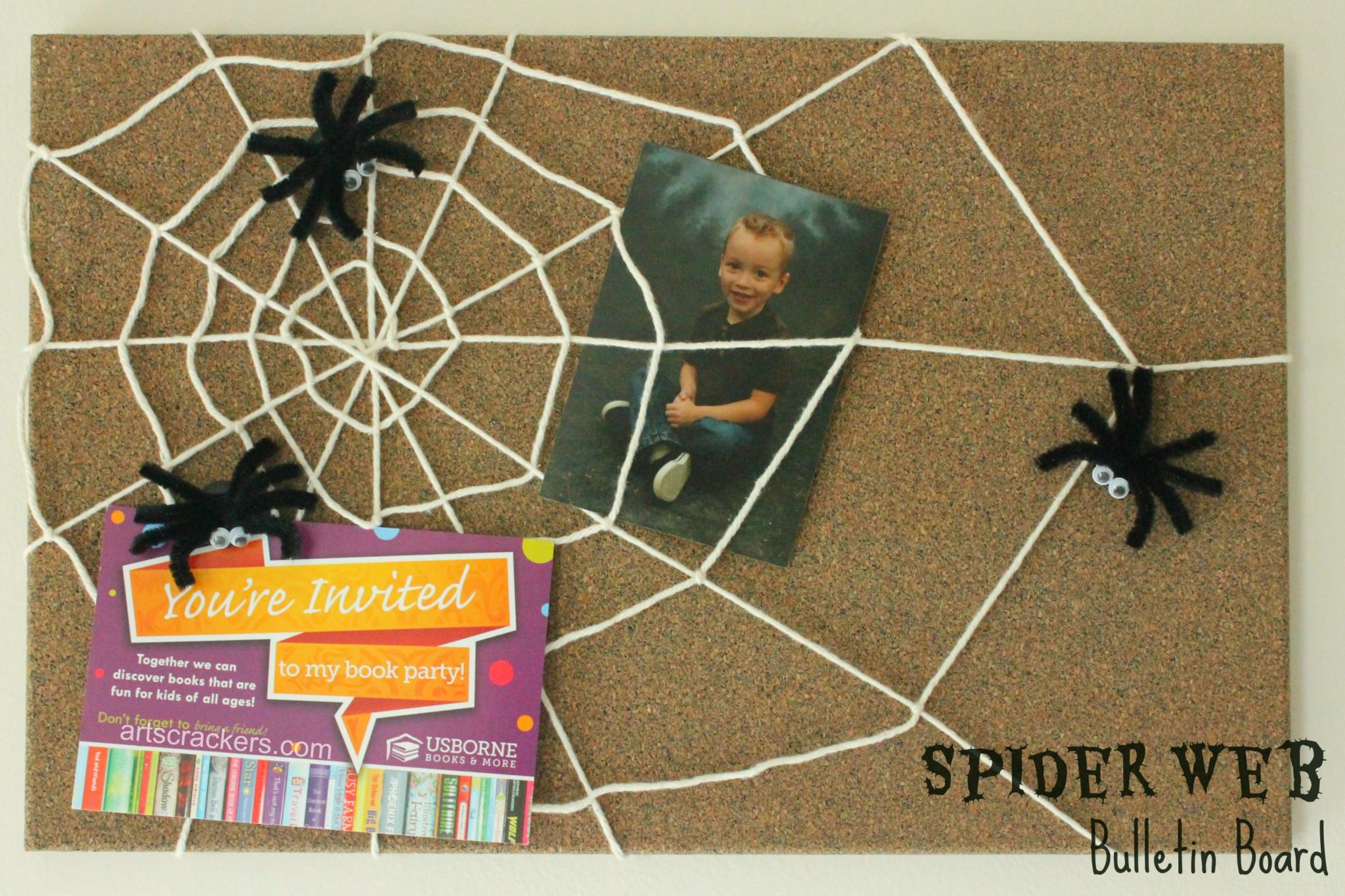 Spider Web Bulletin Board