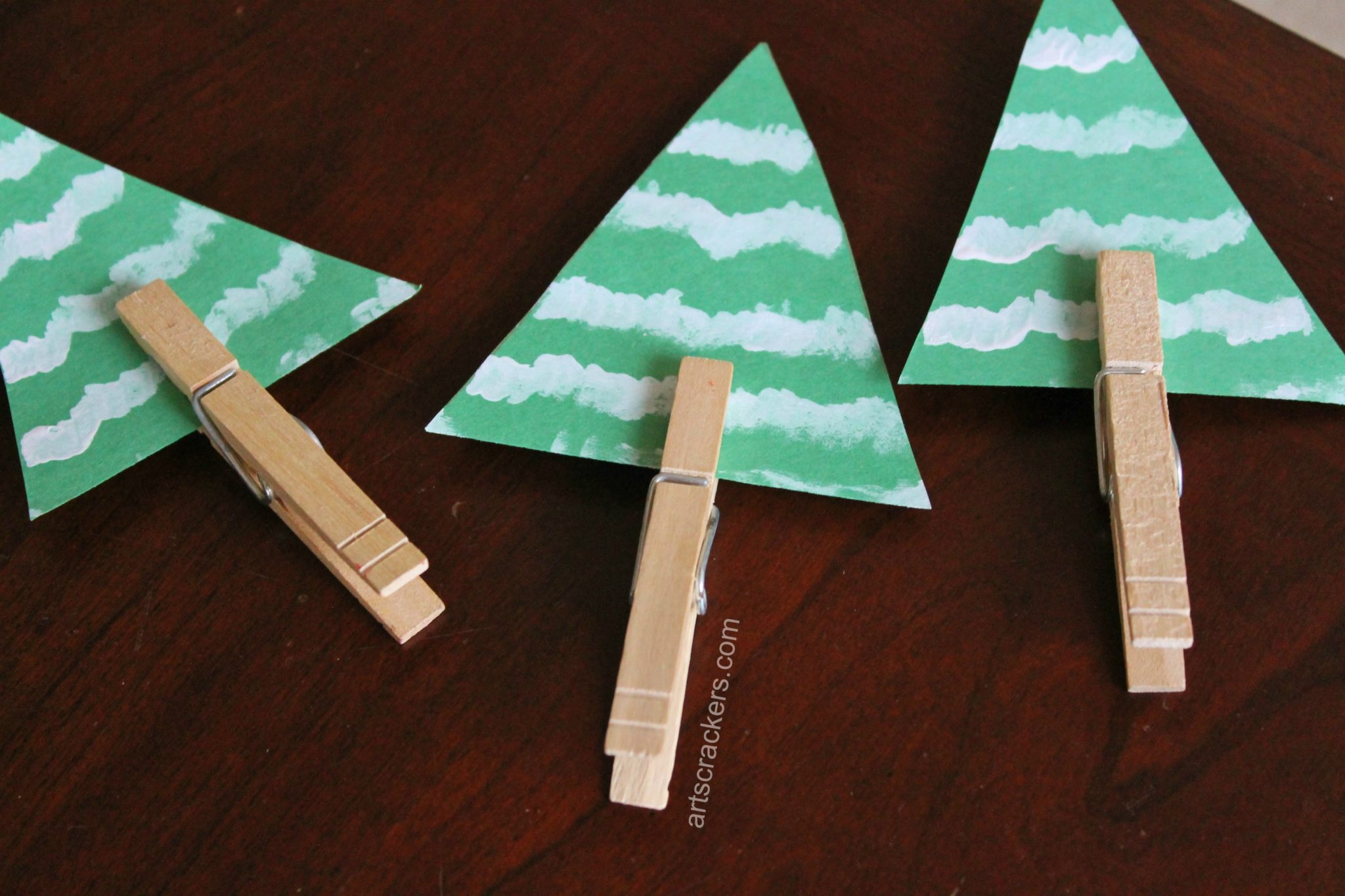 Clothespin Evergreen Tree Complete
