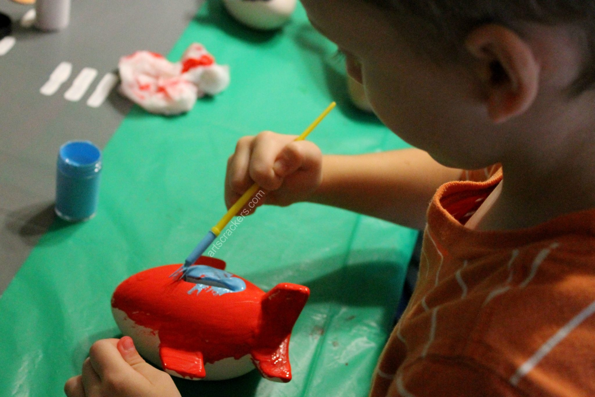 First in Flight Painting Airplanes