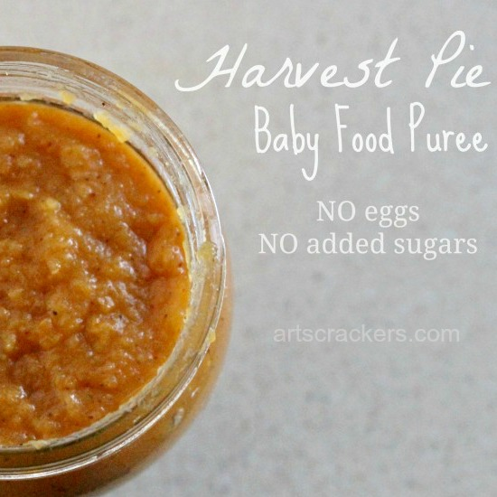Harvest Pie Baby Food Puree in Jar