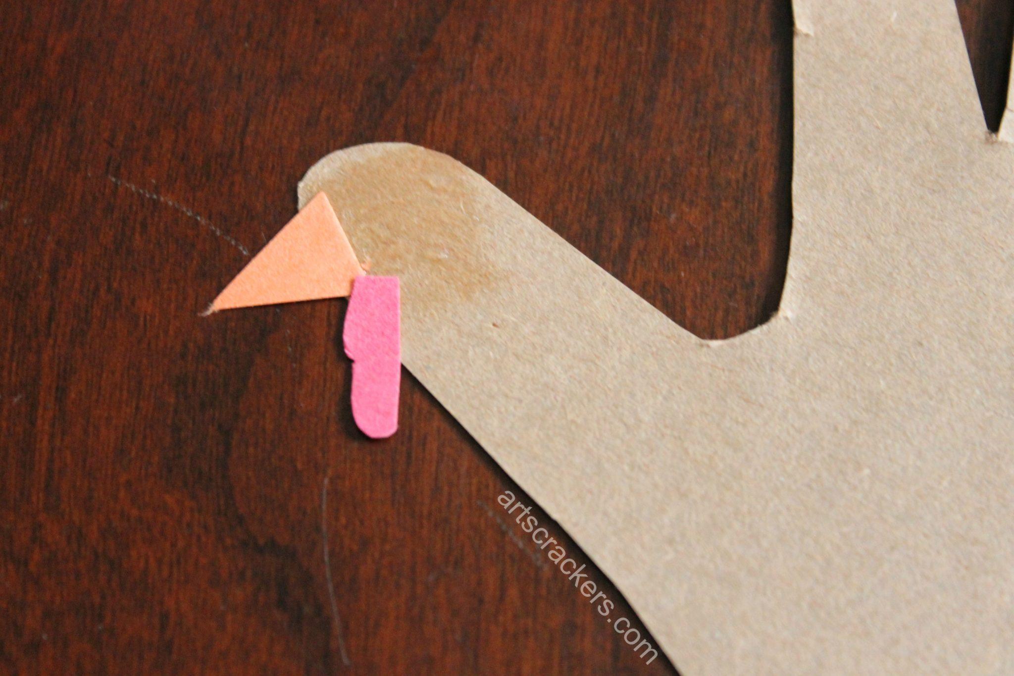 Thankful Turkey Journal Beak