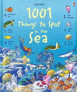 Usborne Books 1001 Things to Spot in the Sea