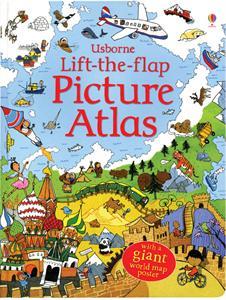 Usborne Books Lift-the-Flap Picture Atlas