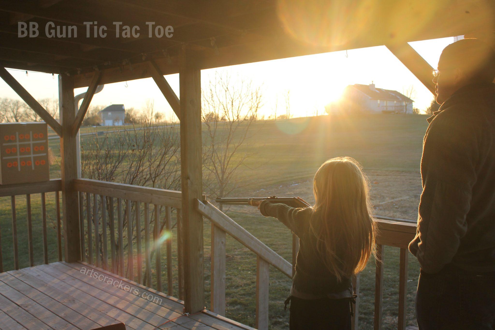 Daisy BB Gun Tic Tac Toe