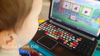 Rosetta Stone Kids Reading Program