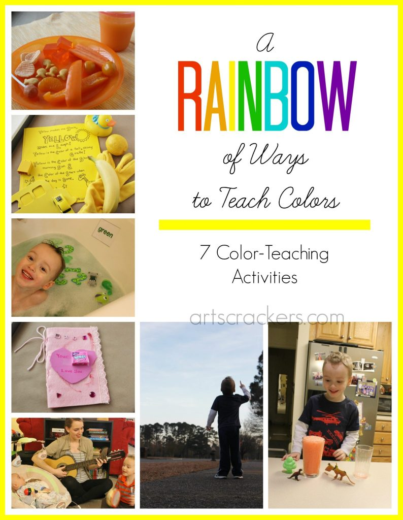 A Rainbow of Ways to Teach Colors--7 Learning Activities. Click the photo to view the post.