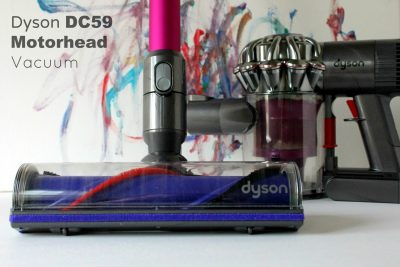 Dyson DC59 Motorhead Cordless Vacuum. Click on the picture to see the review.