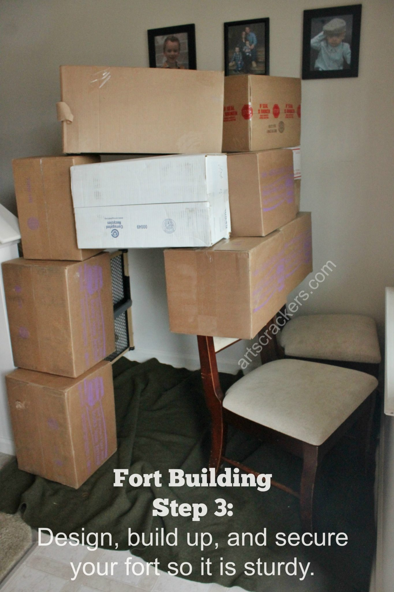 Fort Building Step 3