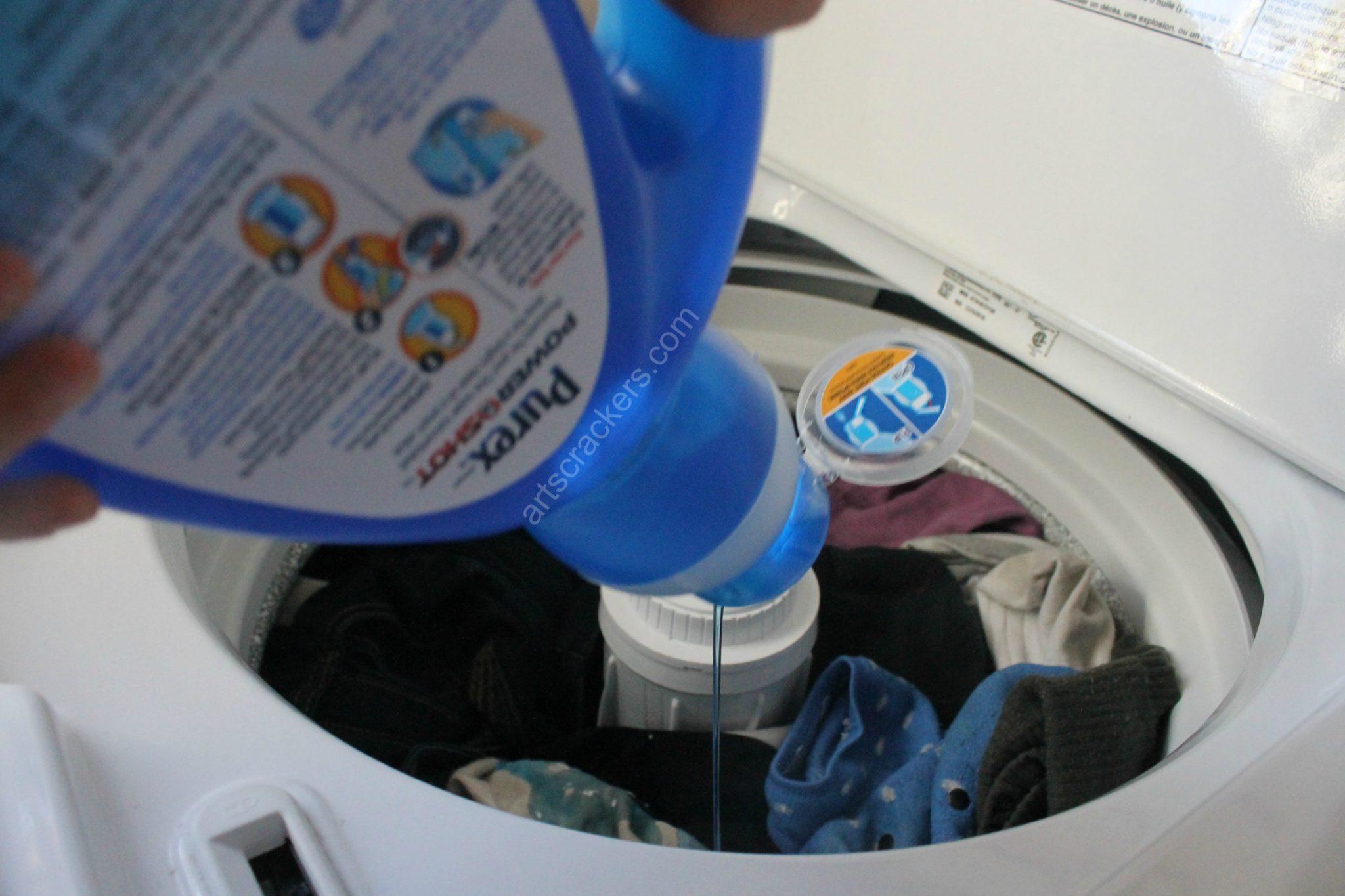 Purex PowerShot Laundry Detergent Self Dispensing
