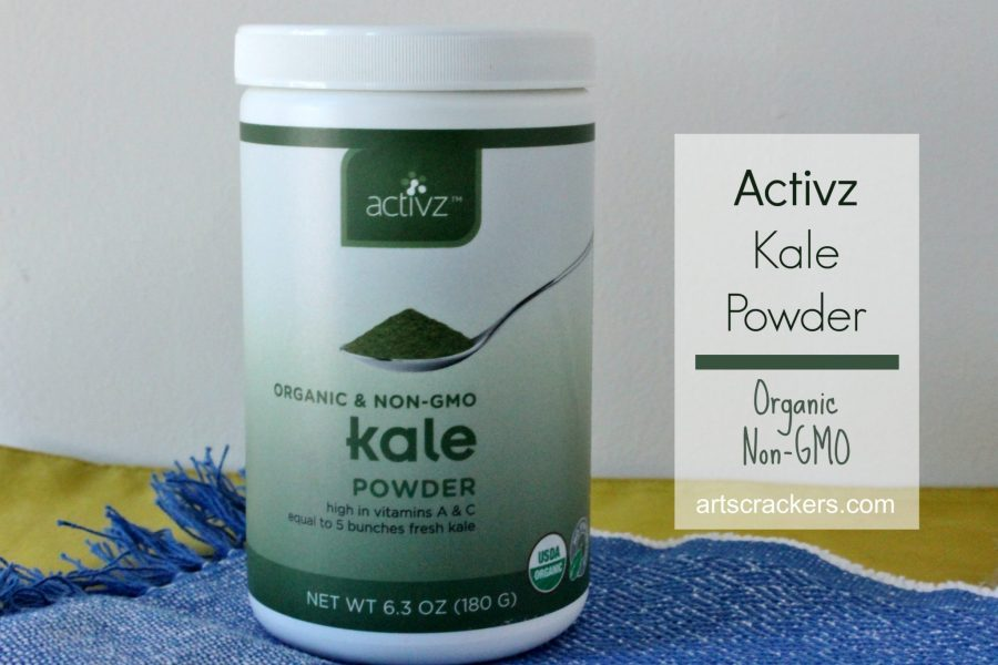 Activz Kale Powder Organic Non GMO. Click the picture for the review and a recipe.