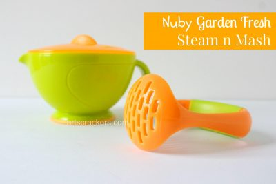 Nuby Garden Fresh Steam n Mash. Click the picture to read the review.