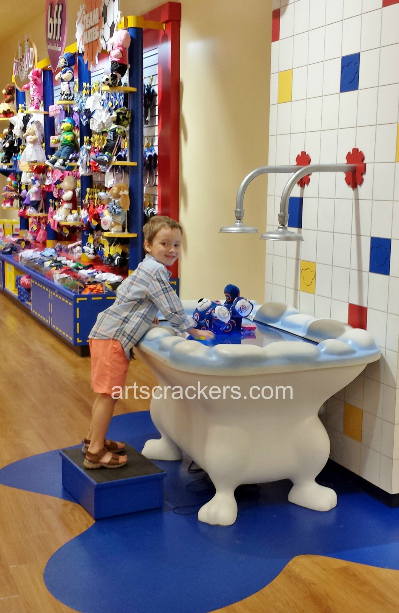 Build A Bear Wash Station
