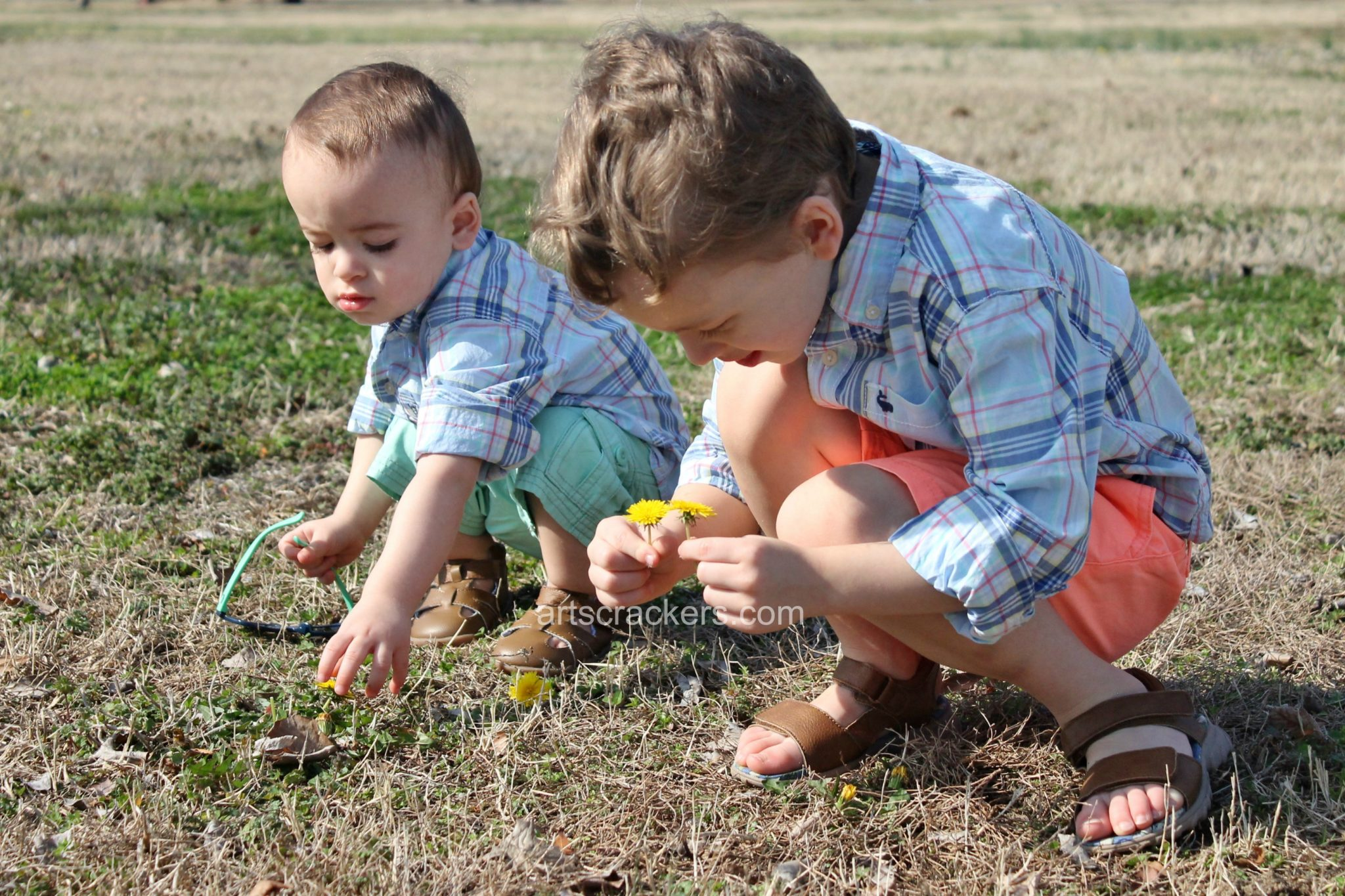 Carters Spring Clothing Line Picking Dandelions. Click the picture to learn more and print a coupon.