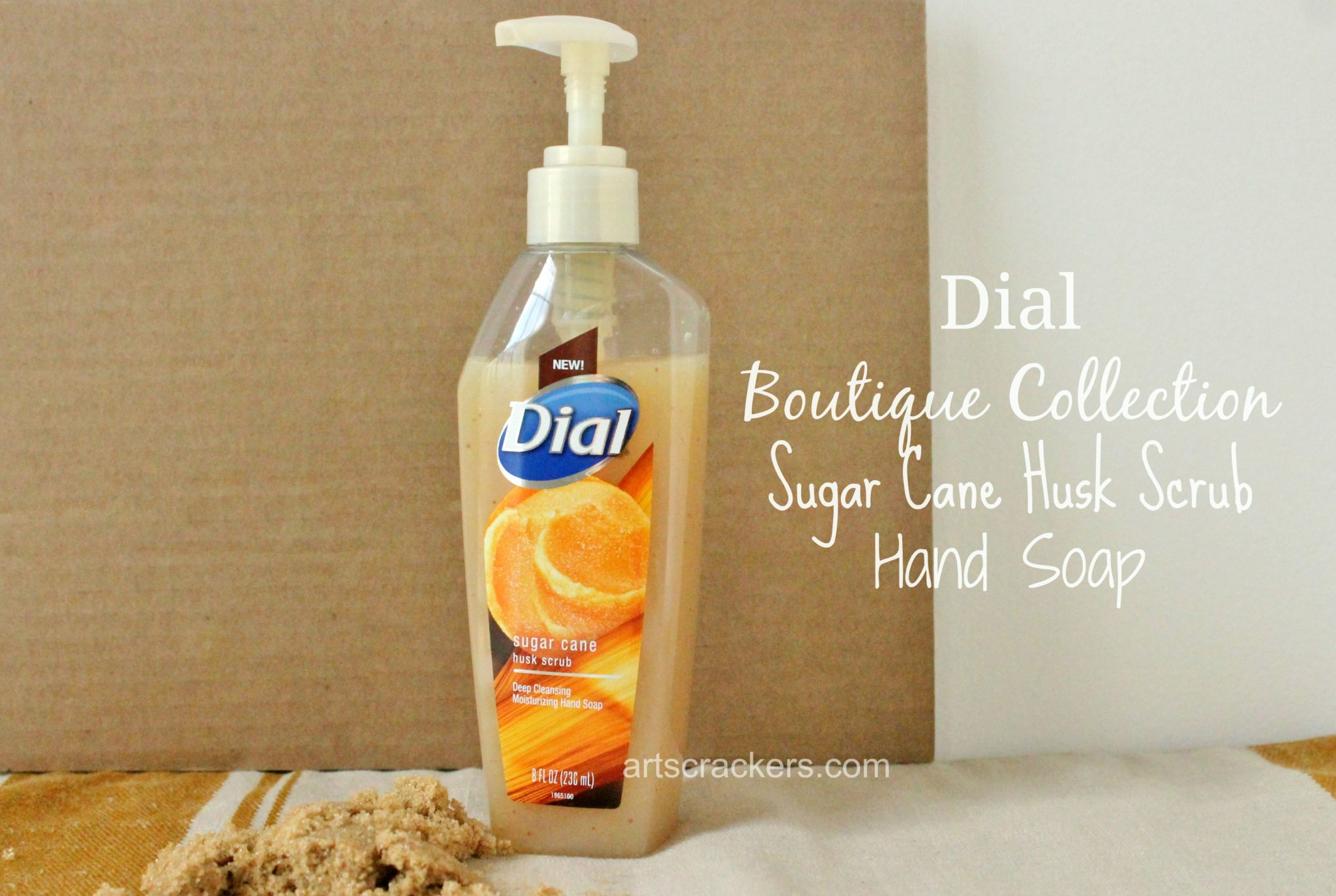 Dial Sugar Cane Husk Hand Soap. Click the picture to read the review.