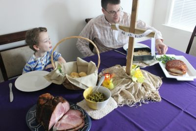 Easter Celebrations with HoneyBaked Ham and Resurrection Rolls. Click to view my top 5 planning tips.