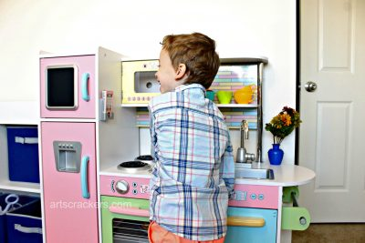 KidKraft Uptown Pastel Kitchen Fun
