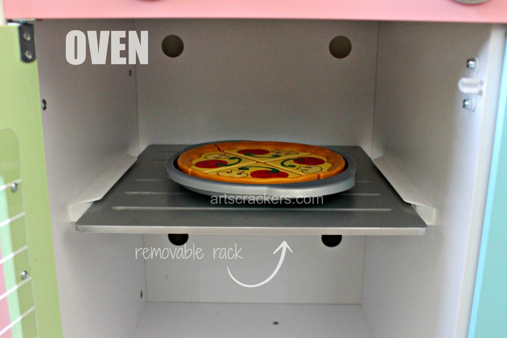 KidKraft Uptown Pastel Kitchen Oven