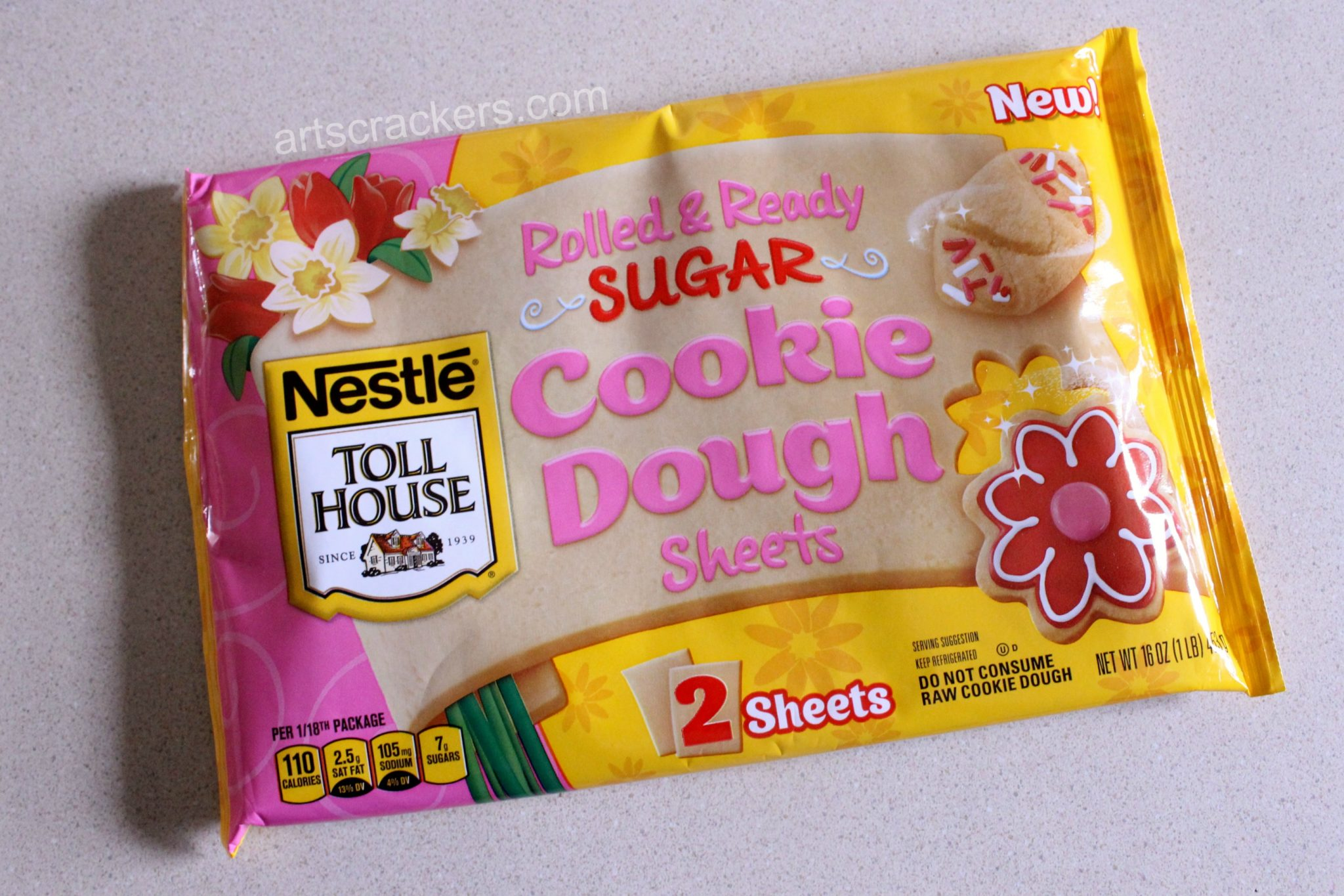 Nestle Toll House Rolled and Ready Cookie Dough