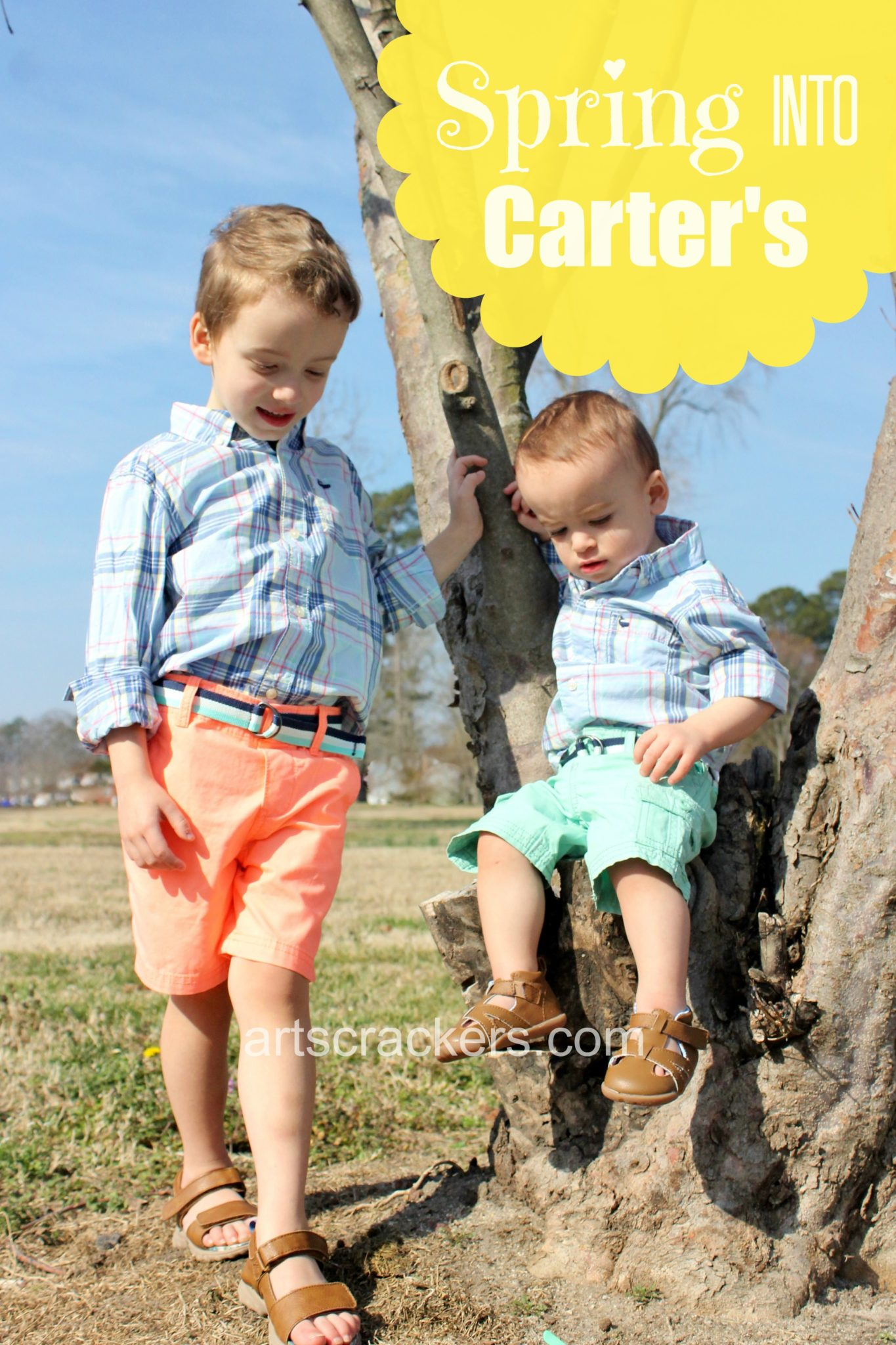 Spring Into Carters with a new wardrobe. Easter styles and more for boys and girls. Click the picture to learn more and print a coupon.