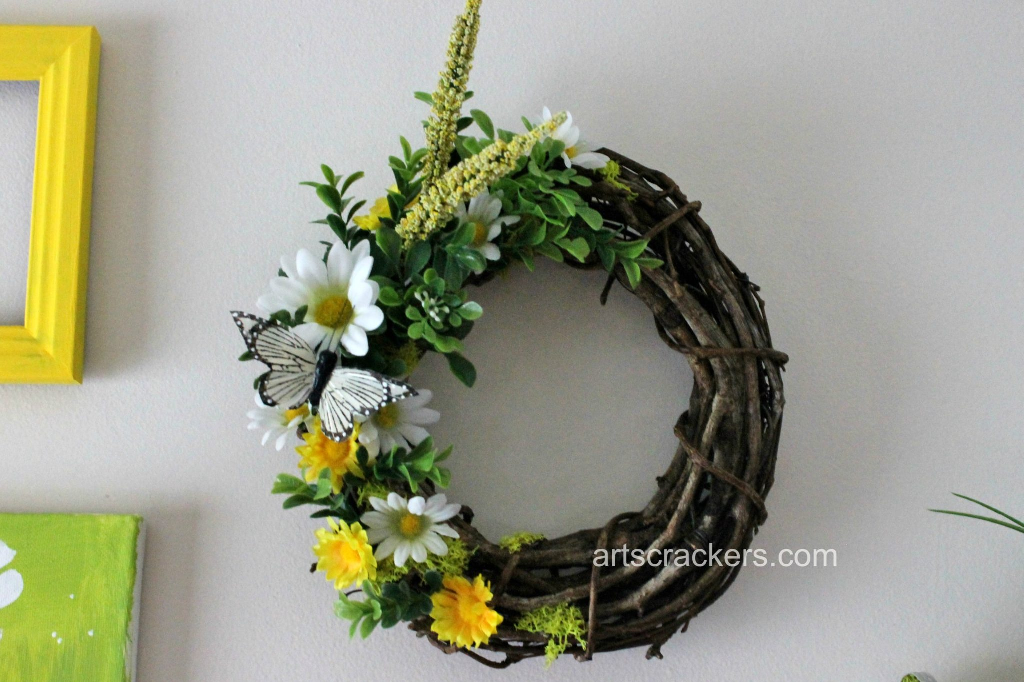 Spring Wall Wreath