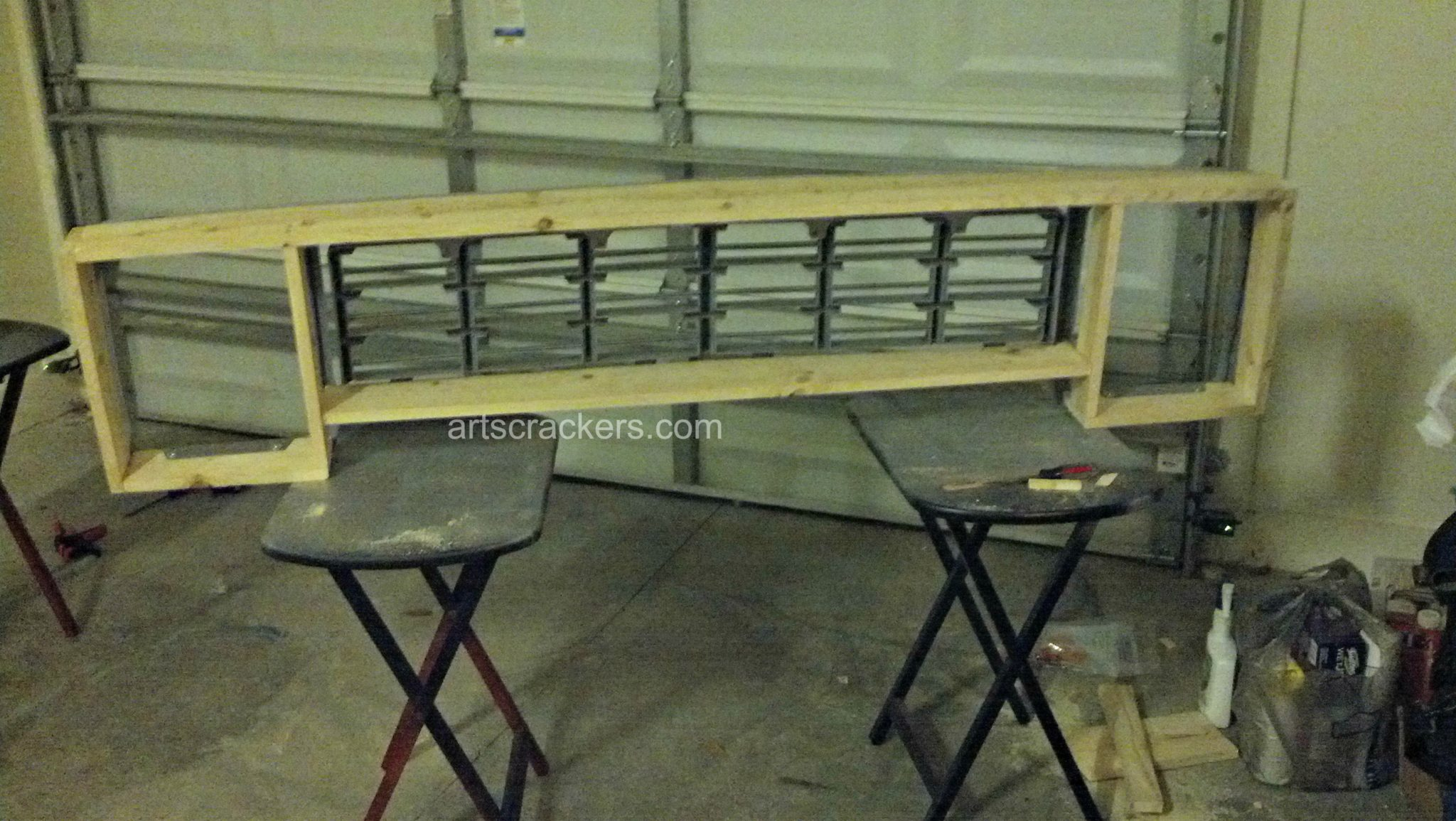 Truck Grill Wooden Frame