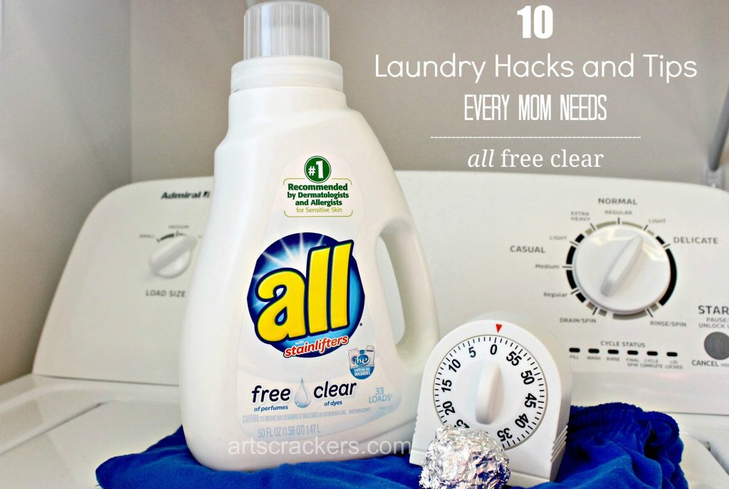 10 Laundry Hacks and Tips Every Mom Needs