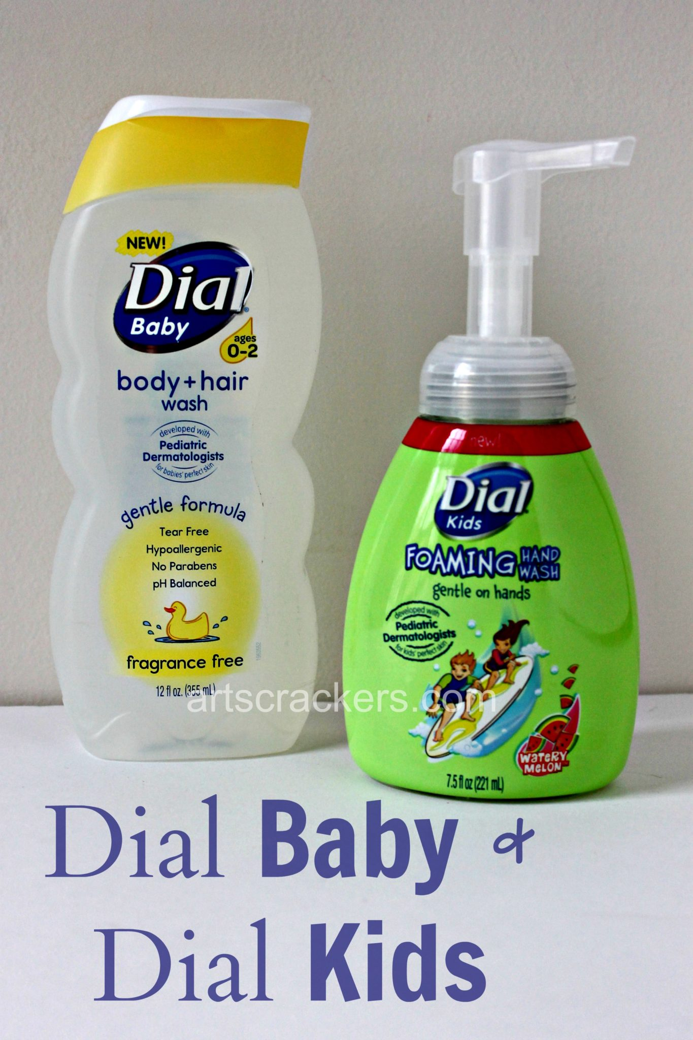 Dial Baby and Dial Kids Personal Care Products. Click the picture for the review and giveaway.