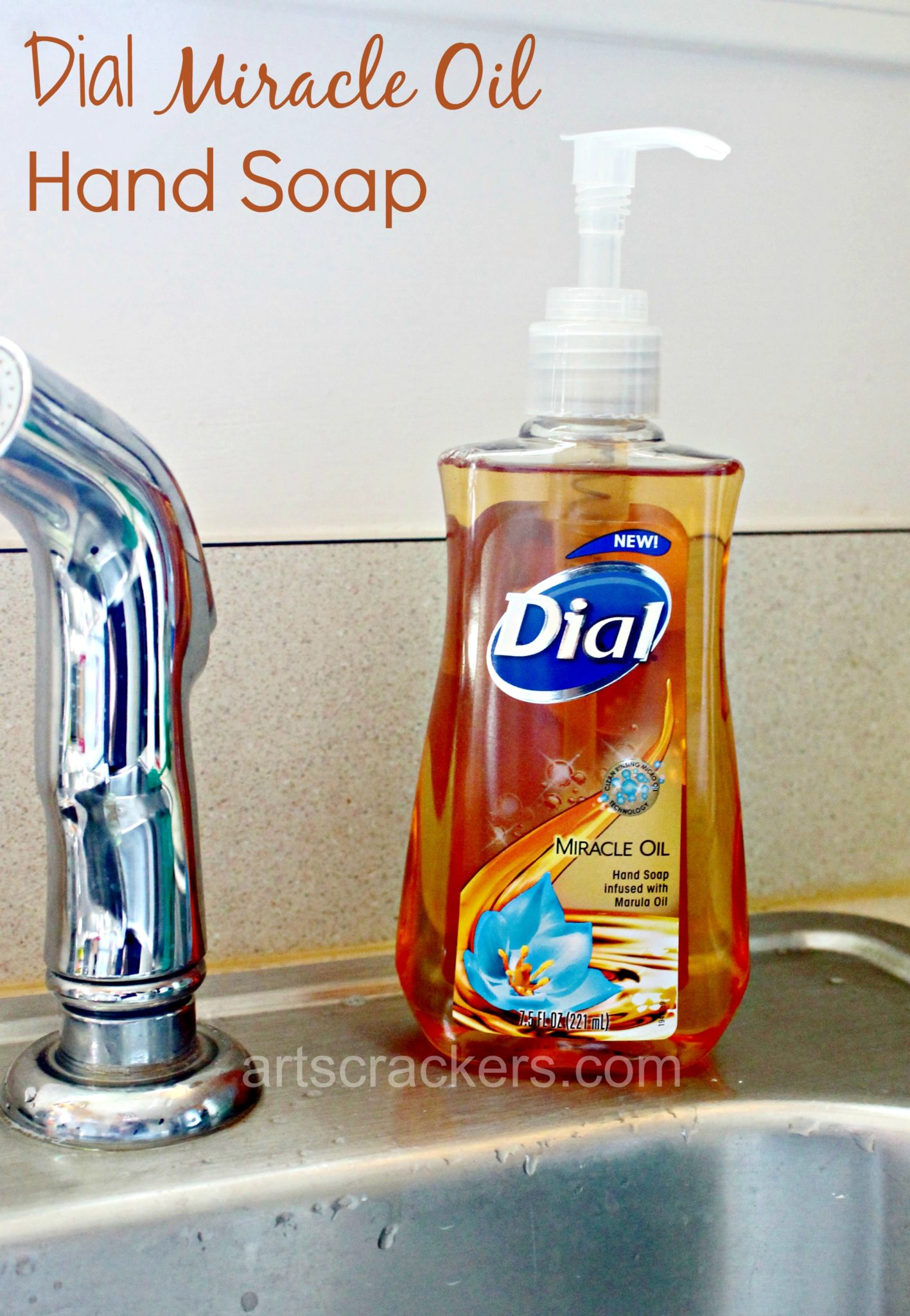 Dial Miracle Oil  Hand Soap with Marula Oil. Click the picture to read the review.