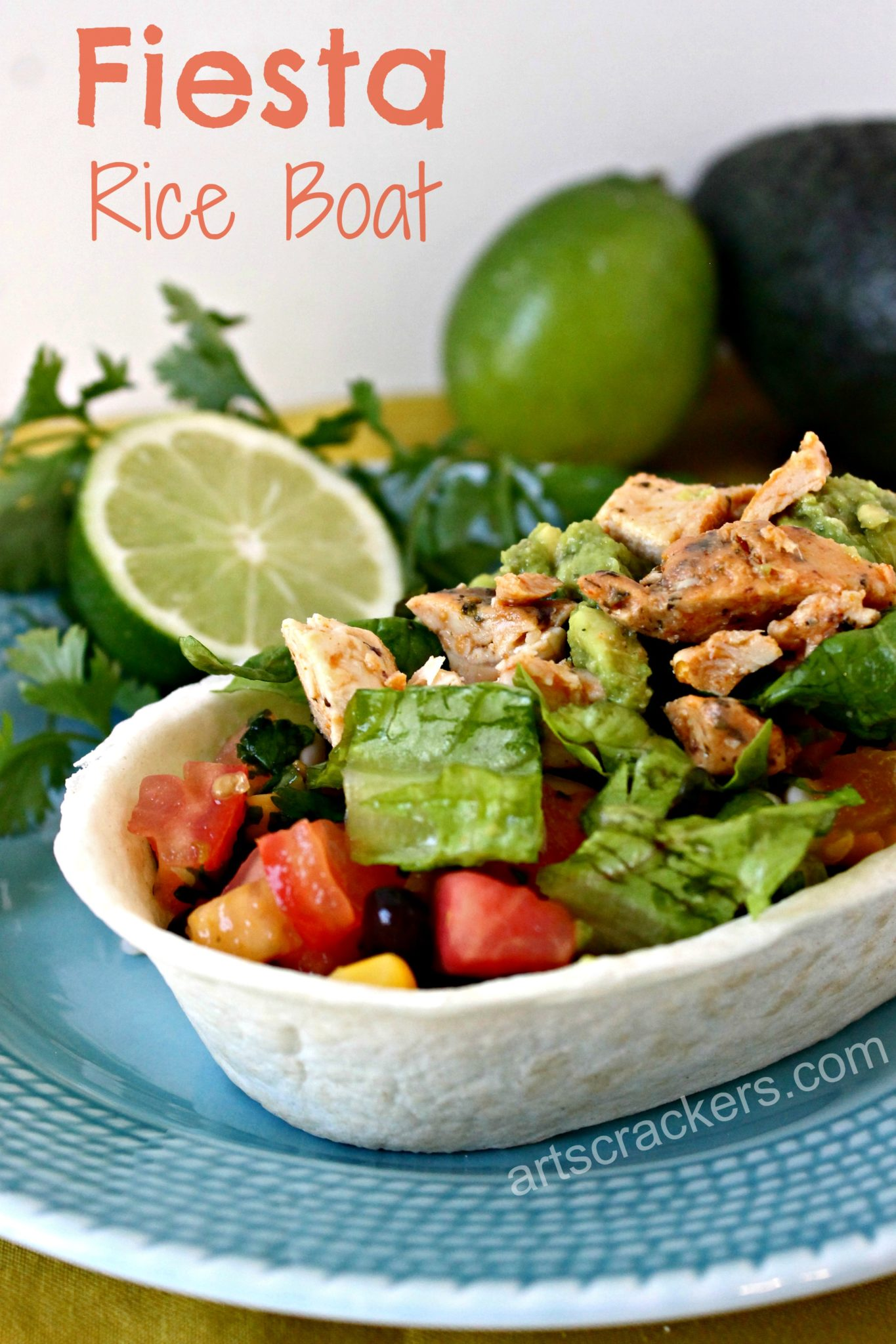 Fiesta Rice Boat with Old El Paso and Avocados from Mexico. Click the picture for the recipe.