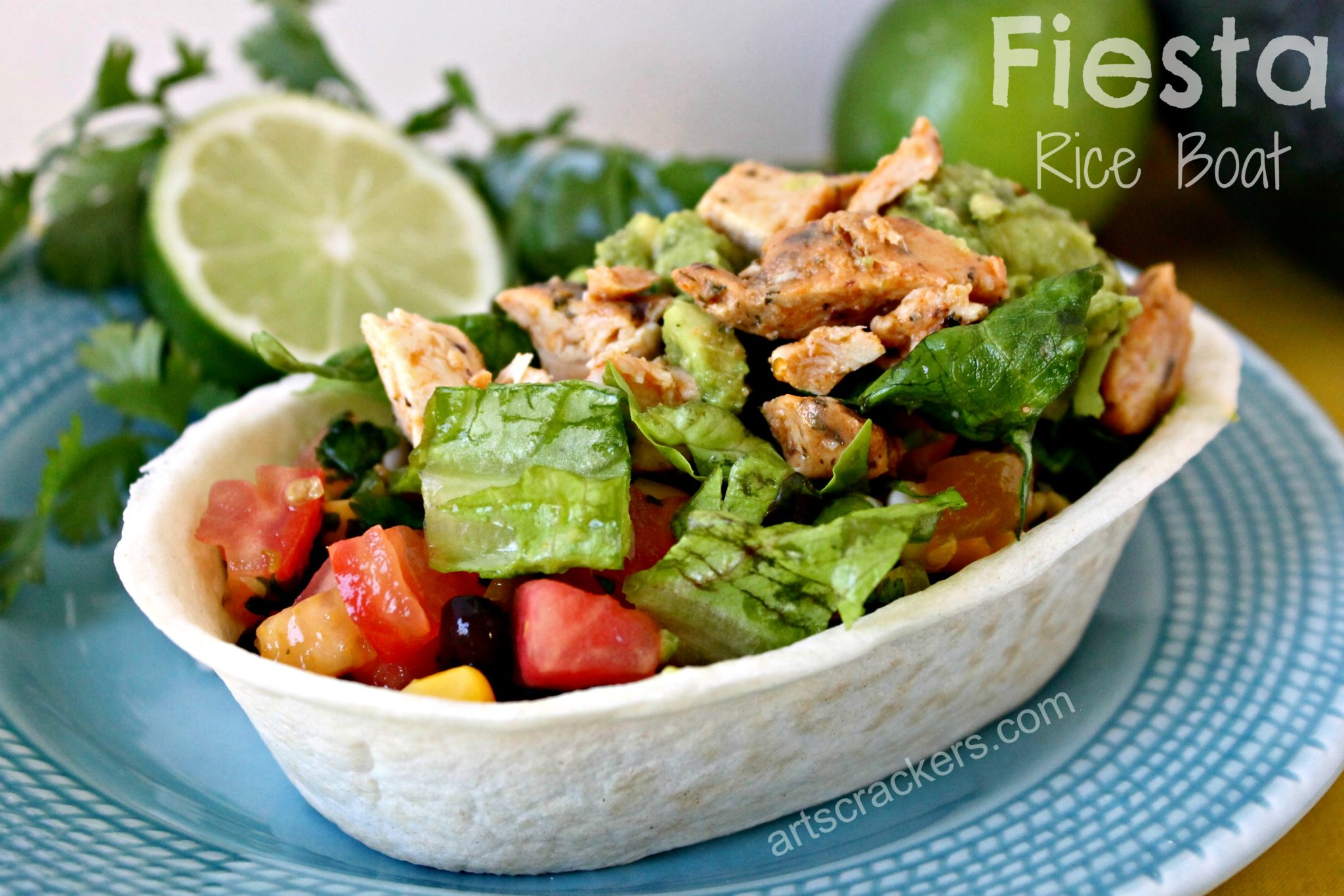 Fiesta Rice Boat. Click the picture to get the recipe.