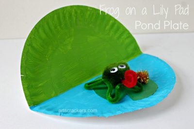 Frog on a Lily Pad Pond Plate. Click the picture to read the instructions and get bonus ideas.