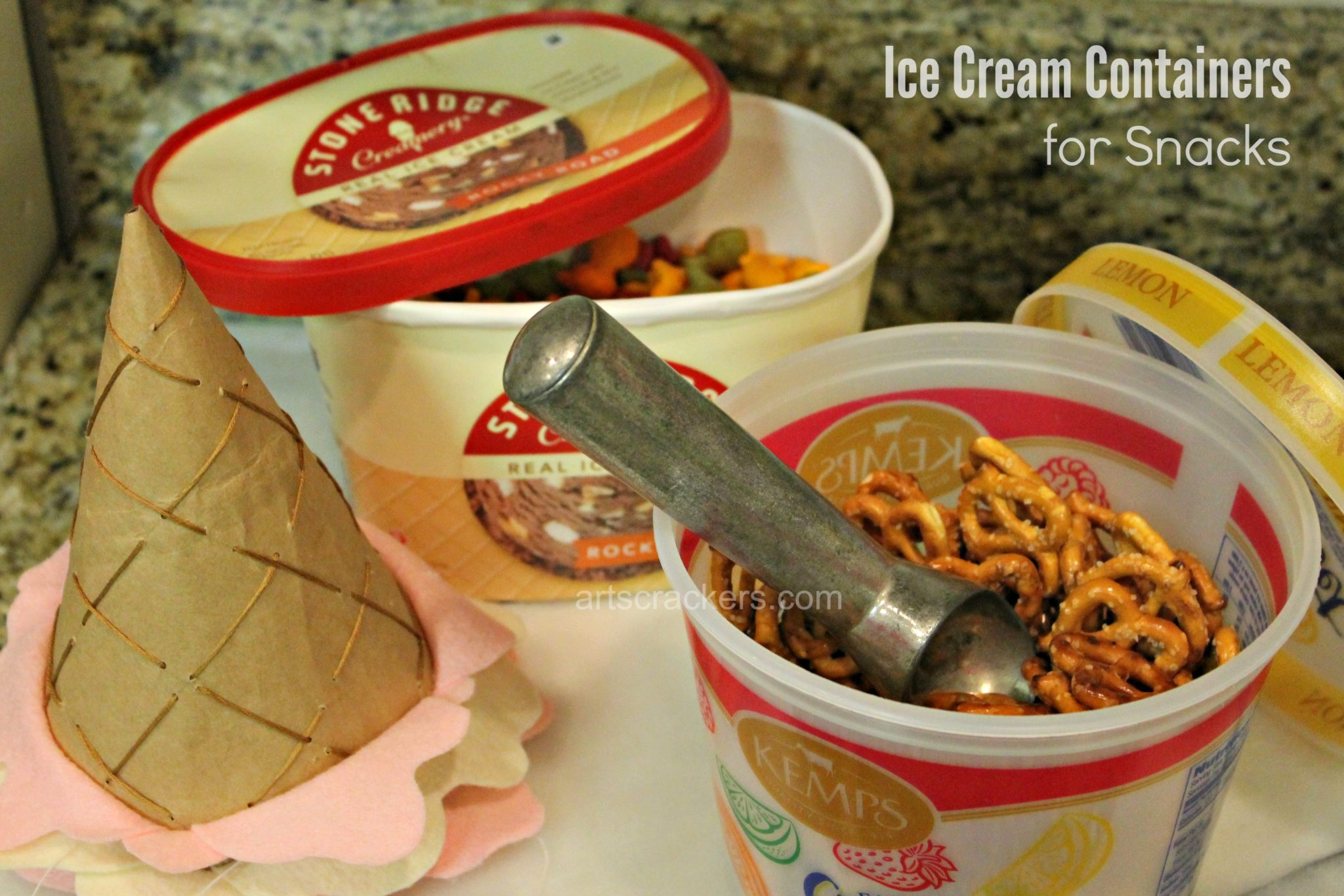 Ice Cream Birthday Party Snack Containers. Click the picture to read more.