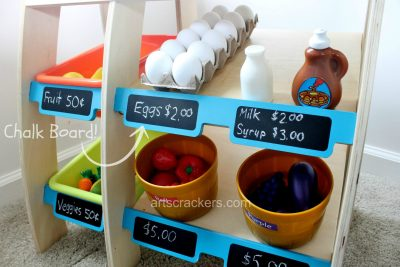 KidKraft Grocery Market Place Chalkboard Labels. Click the picture to read the reviews.