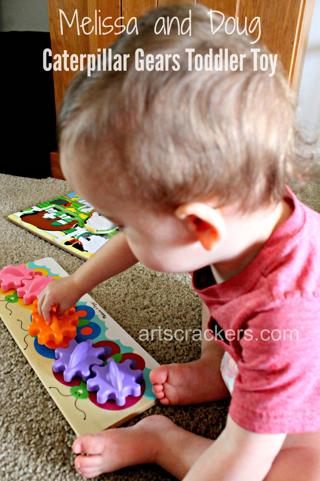 Melissa and Doug Caterpillar Gears Toddler Toy. Click the picture to read the review.