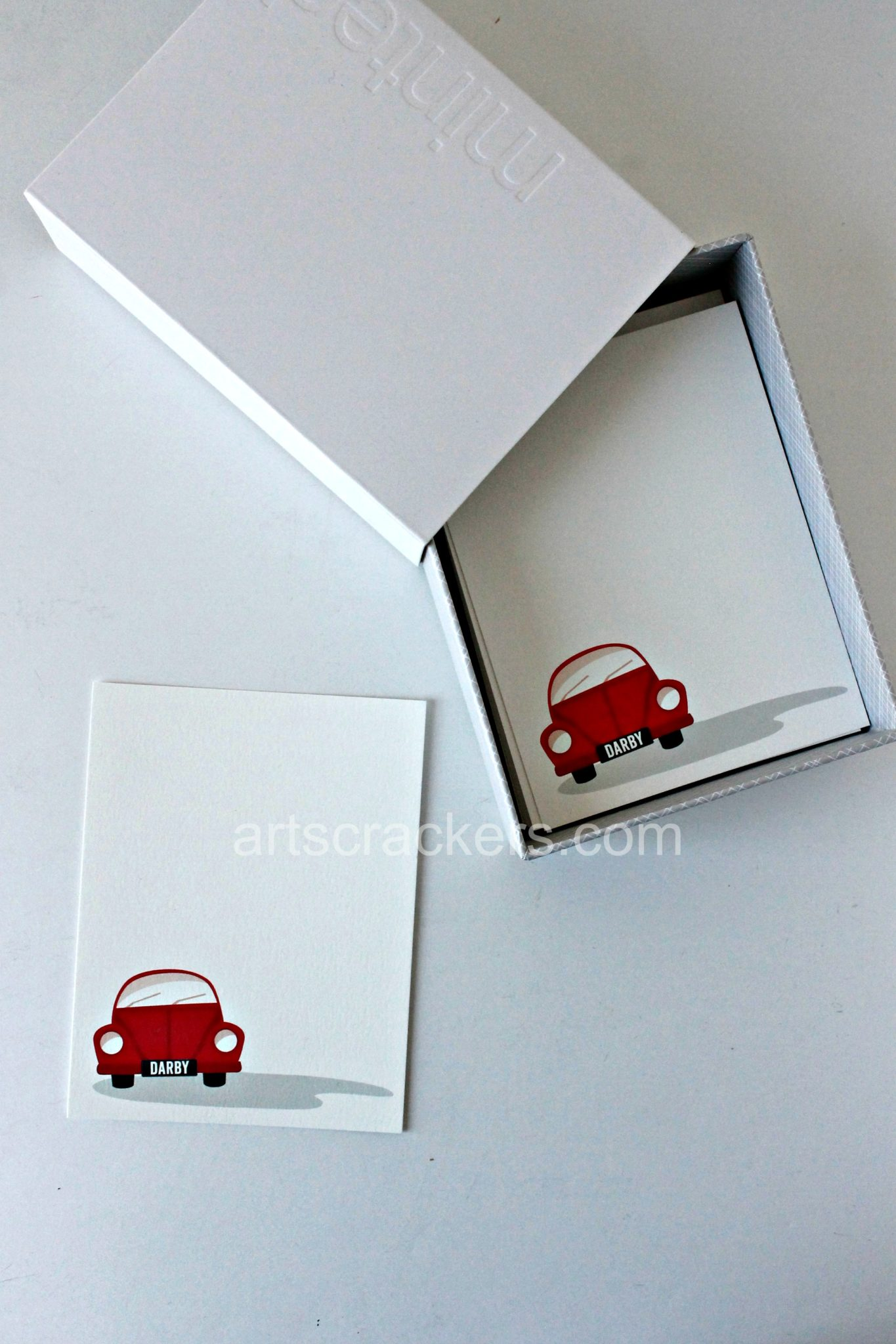 Minted Kids' Stationery. Click the picture to read the review.