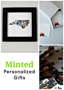 Minted Personalized Gifts. Click here to read the review.