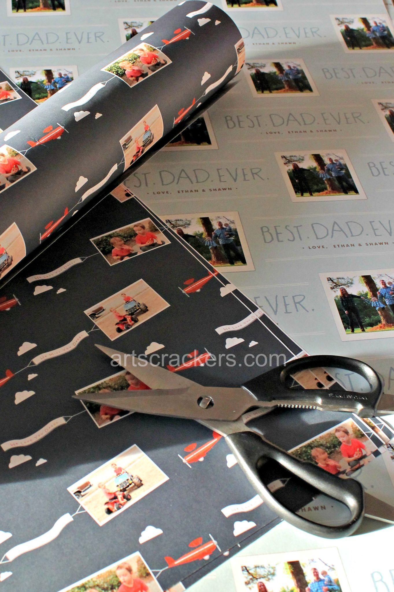 Minted Photo Wrapping Paper. Click the picture to read the review.