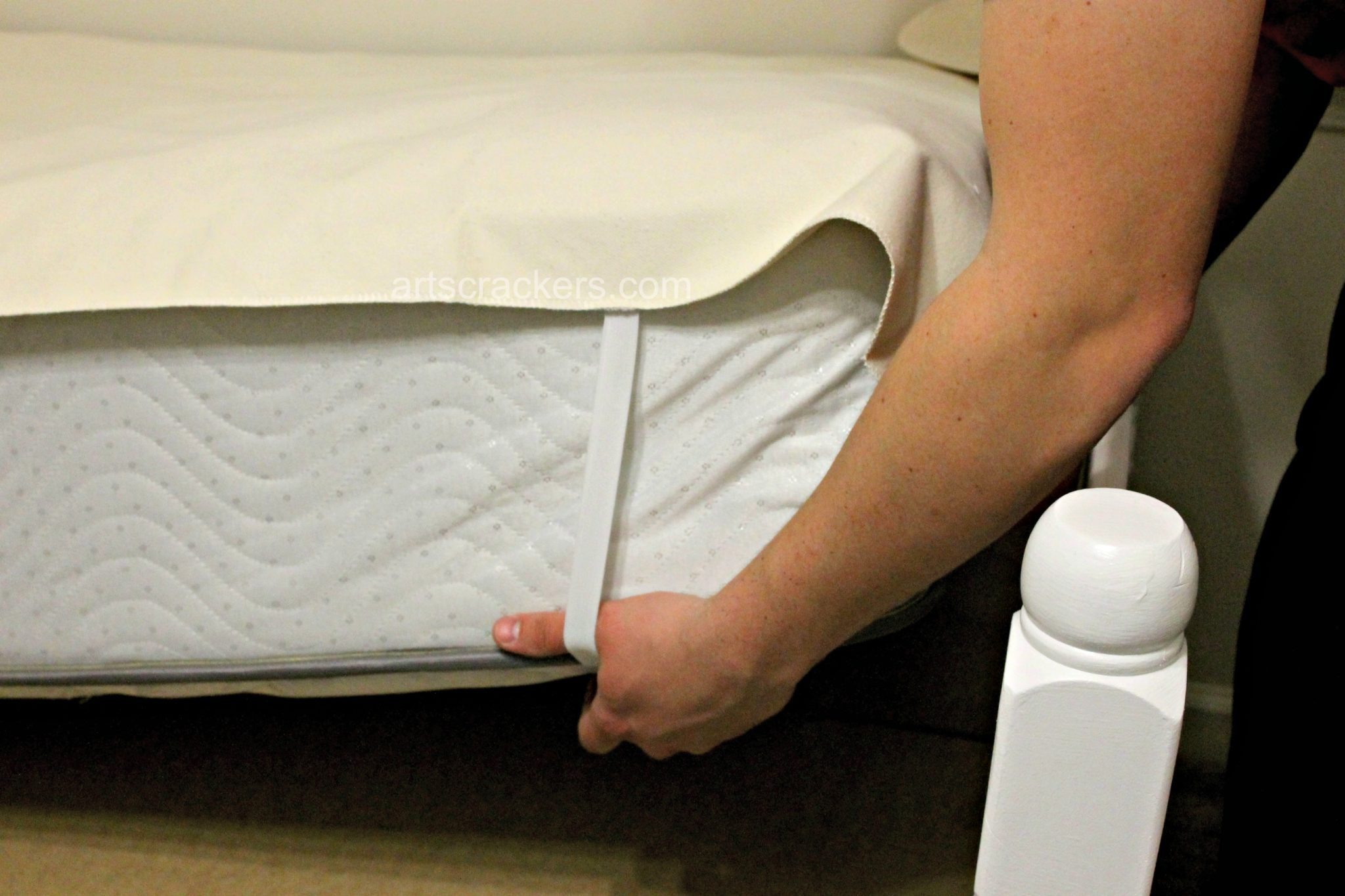Naturepedic Organic Waterproof Mattress Protector Pad. Click the picture to read the review.