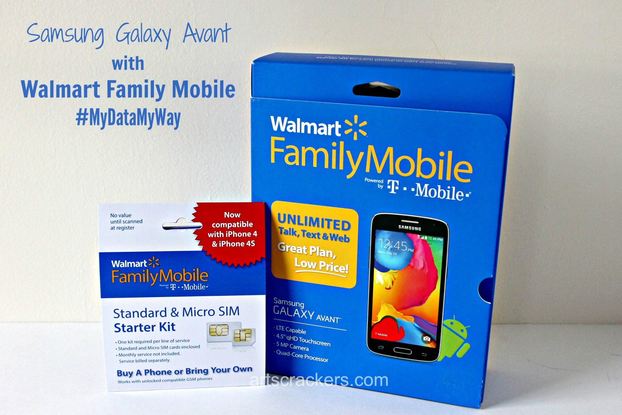 Samsung Galaxy Avant Walmart Family Mobile