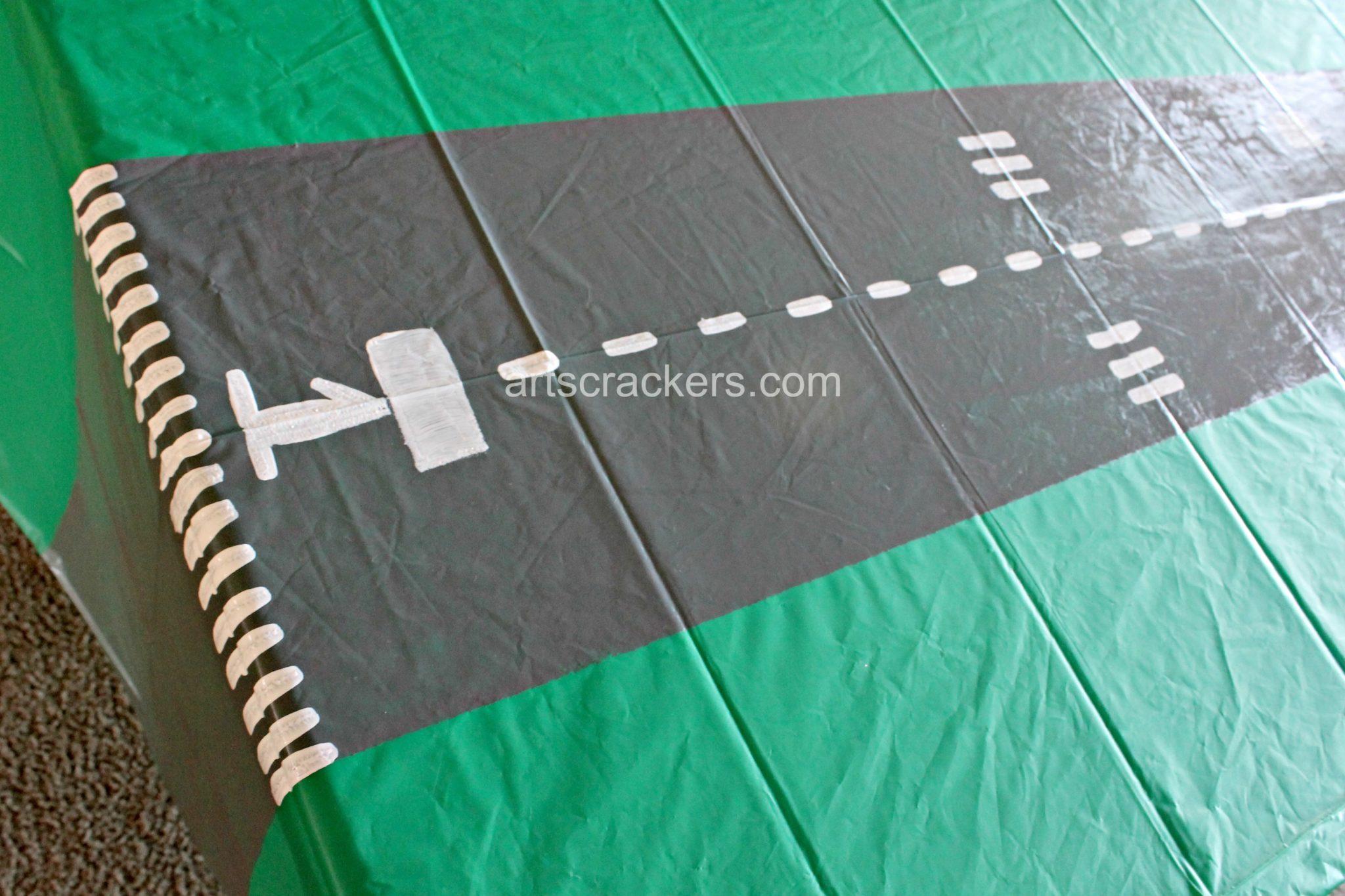 Table Runner Runway Step 6
