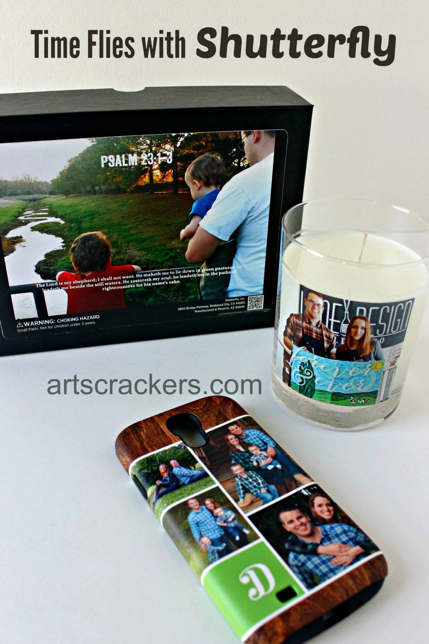 Time Flies with Shutterfly Photo Gifts. Click the picture to read more.