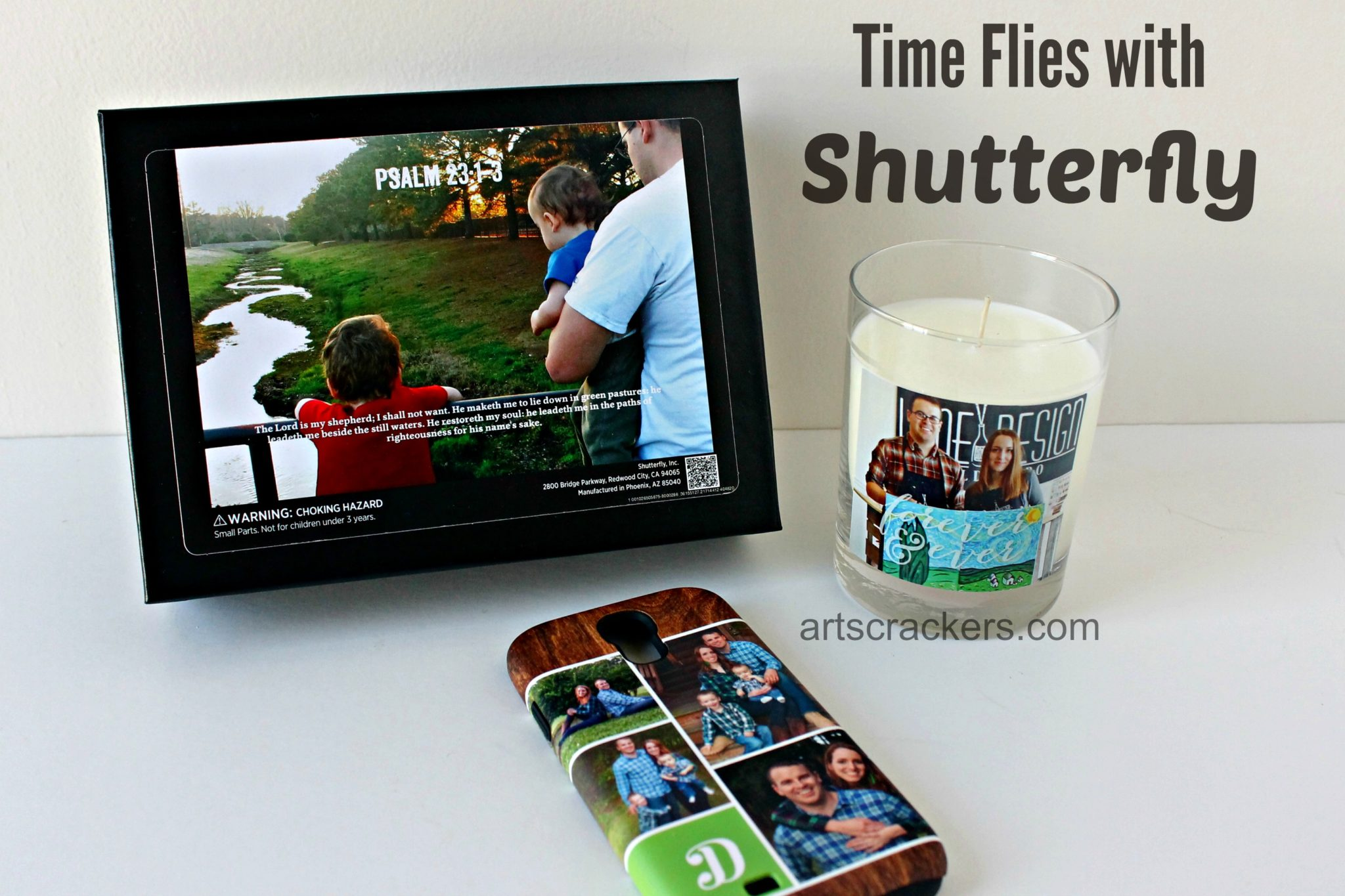 Times Flies with Shutterfly. Click the picture to read the review.