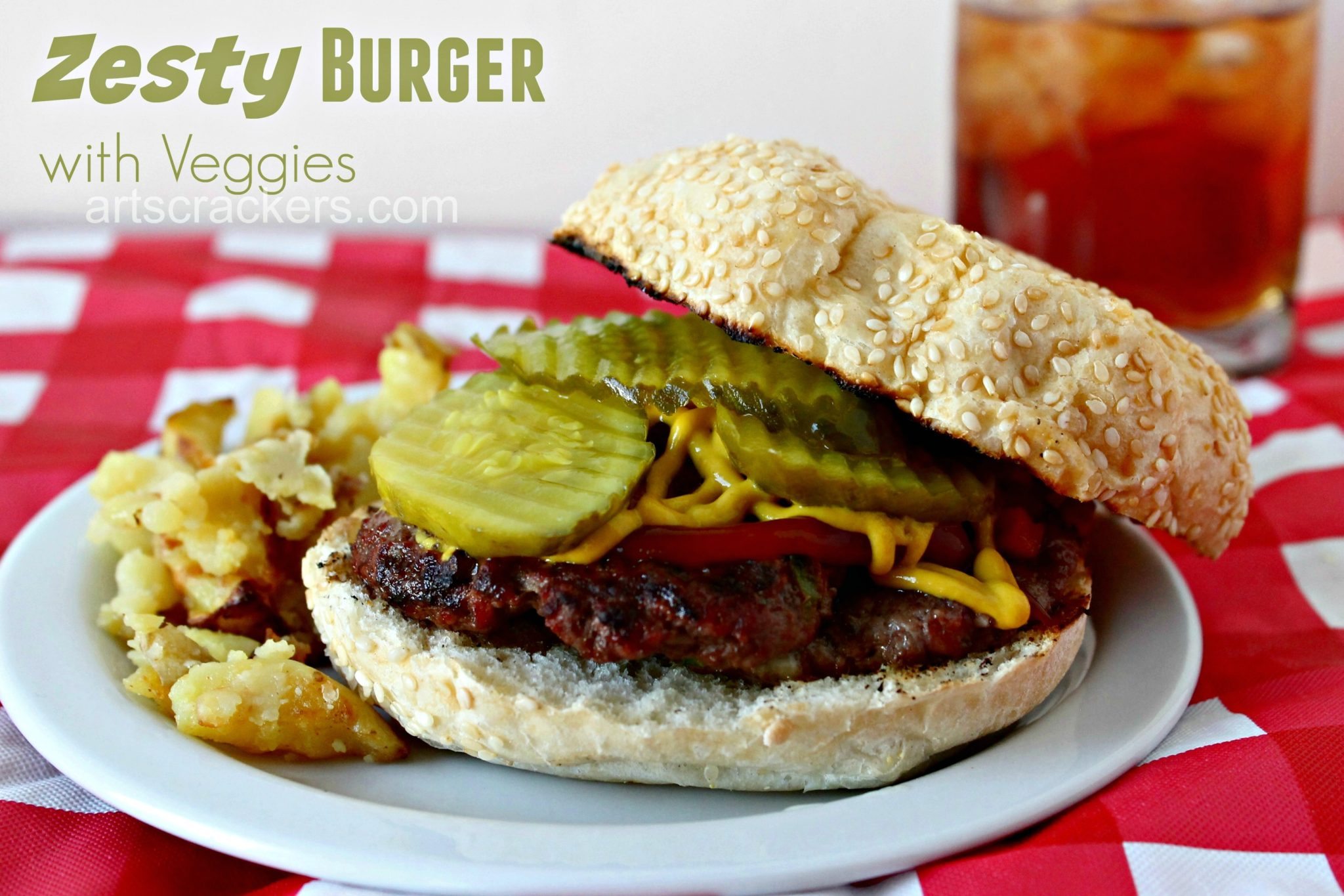 Zesty Hamburger. Click the picture to get the recipe.